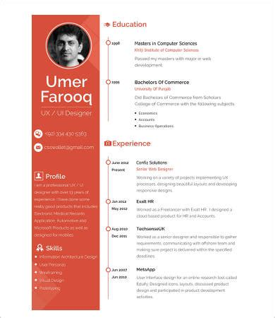 Professional functional resume templates